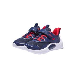 XTEP 特步 儿童休闲运动鞋 兰红 30码