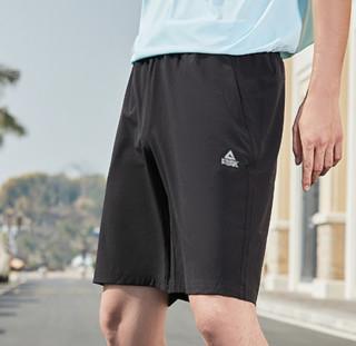 PEAK 匹克 综合运动系列 男子运动裤 DF312071 黑色 L