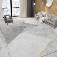 客厅地毯卧室全铺地垫现代轻奢大面积床边毯沙发茶几毯家用ins风