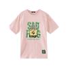 Meters bonwe 美特斯邦威 悲伤蛙联名款 男女款短袖T恤 618008 粉色 L