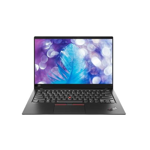 ThinkPad 思考本 X1 Carbon 2020款 14.0英寸 轻薄本 沉浸黑(酷睿i5-10210U、核芯显卡、8GB、512GB SSD、4K、IPS、20U90037CD)
