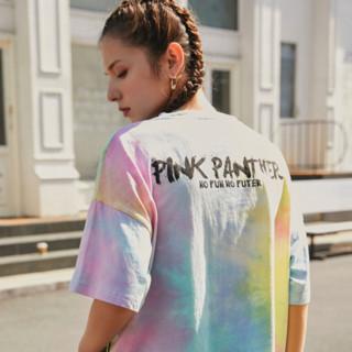 Fun 粉红豹联名系列 女士短袖T恤 FYT112A0G