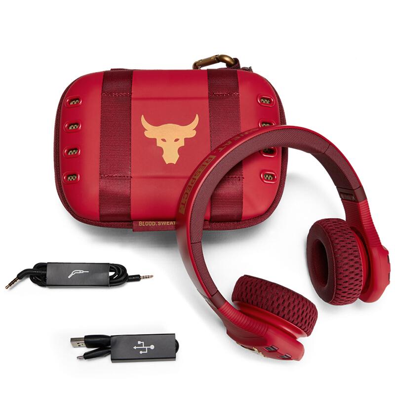 JBL 杰宝 UA TRAIN ROCK安德玛联名款 强森版 头戴式耳罩式降噪蓝牙耳机