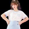 Puella 甜心怪兽联名系列 女士圆领短袖T恤 2A11380TSIP998