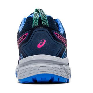 ASICS 亚瑟士 Gel-Venture 7 女子跑鞋 1012A476-401 蓝粉 44