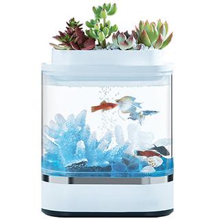画法几何 迷你懒人鱼缸pro 1.5L