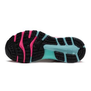 ASICS 亚瑟士 Gel-Nimbus 21 中性跑鞋 1012A502-100 白色/紫色 42.5