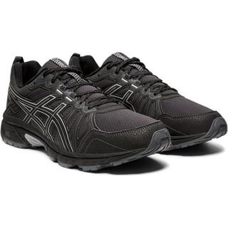 ASICS 亚瑟士 Gel-venture 7 男子越野跑鞋 1011A560-001 黑色 46.5
