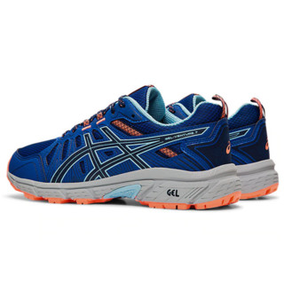 ASICS 亚瑟士 Gel-Venture 7 女子跑鞋 1012A476-400 蓝橙 40