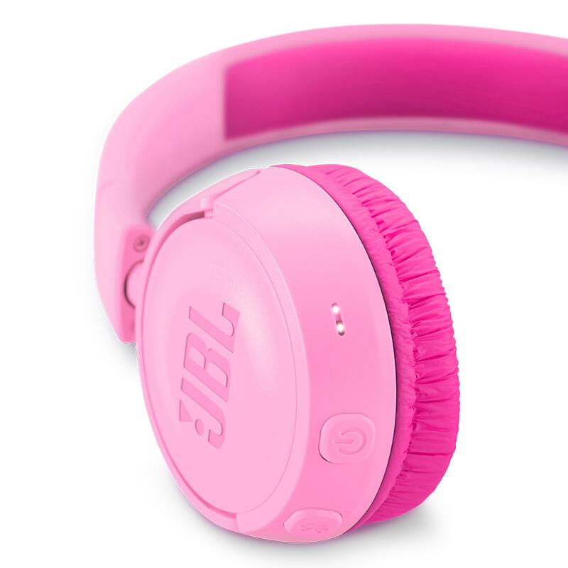 JBL 杰宝 JR300BT 耳罩式头戴式真无线蓝牙儿童耳机