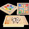 呱呱乐 儿童多功能木制玩具(升级款 三合一)