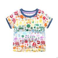 I.K 印象童年 男童印花T恤