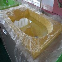 京惠思创 加厚型一次性洗澡袋泡澡袋子 泡澡盆木桶浴缸塑料袋浴缸膜卫生环保足疗袋 宽150cm*高120cm 10只加厚装