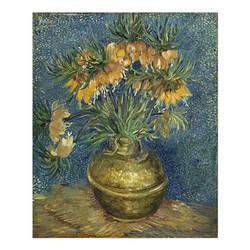 buybuyART 买买艺术 梵高《铜花瓶上的皇冠贝母》 50*40cm 装饰画 版画