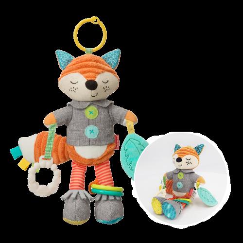 infantino 婴蒂诺 狐狸公仔系列 安抚摇铃