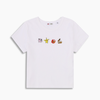 Levi's 59187-0003 女士宝可梦刺绣短袖T恤