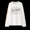 LEDIN 乐町 奇奇蒂蒂联名系列 女士长袖T恤 CWDCA1225