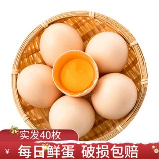 对面小城 农家散养土鸡蛋 鲜鸡蛋柴鸡蛋笨鸡蛋草鸡蛋 现捡鸡蛋 生鲜 10枚