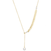 YOONWOO E-4-11 麦穗珍珠项链