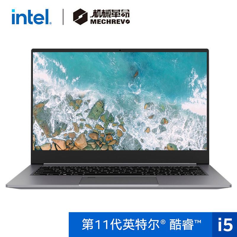 MECHREVO 机械革命 S3 Pro 14英寸笔记本电脑(i5-11300H、16GB、512GB、 100%sRGB)