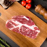 PLUS会员:THOMAS FARMS 安格斯牛排套餐 1.2kg/袋6片(保乐肩3片+上脑3片)澳洲谷饲原切牛肉 烧烤健身食材 烤肉生鲜