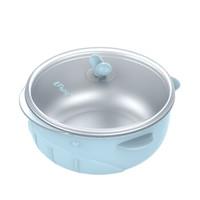 樱舒Enssu辅食碗儿童餐具 婴儿新生儿碗宝宝保温碗餐具套装不锈钢吃饭碗ES3161