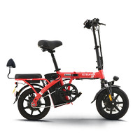 SUNRA 新日 TDT2100Z 48V8A新国标锂电动自行车