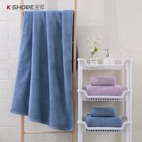 限地区:KINGSHORE 金号 A类全棉浴巾 140*70cm 445g