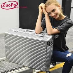 佐帕铝框行李箱24拉杆箱男女士小20英寸