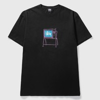 STUSSY 斯图西 男士滚动电视颜料染色T恤
