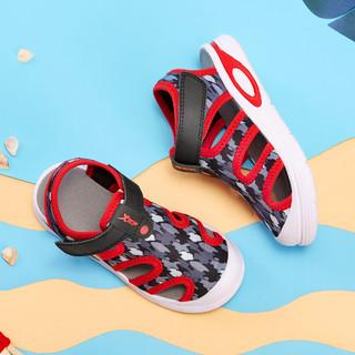 XTEP 特步 中性童沙滩凉鞋