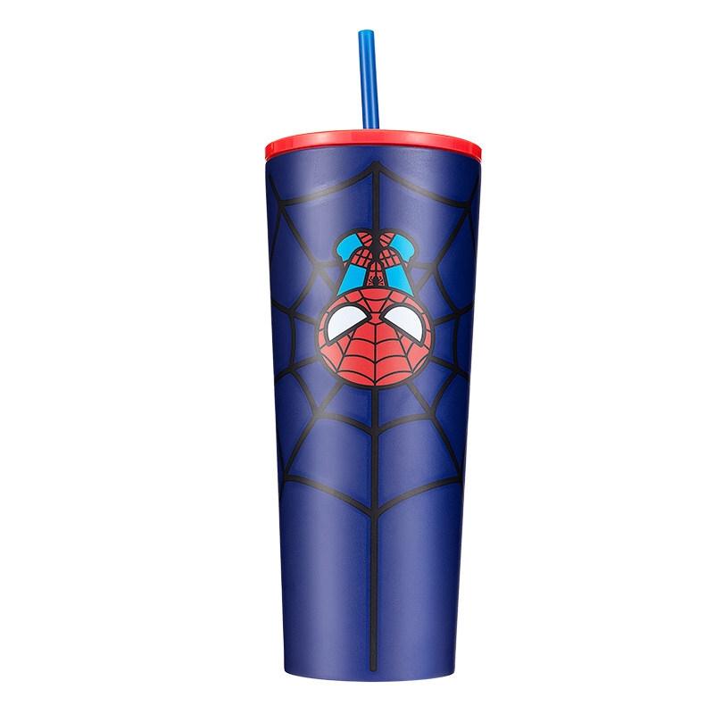 名创优品 漫威联名 冰杯吸管杯 750ml