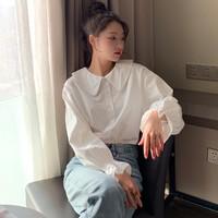 Tonlion 唐狮  62612FC0015493100 女士娃娃领衬衫