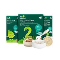 英氏宝宝辅食礼包 试用装3盒 面条40g+饼干20g+米粉80g