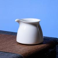 熹谷 白瓷公道杯陶瓷分茶器 白色