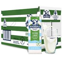 DEVONDALE  德运  脱脂高钙纯牛奶 1000ml*10盒
