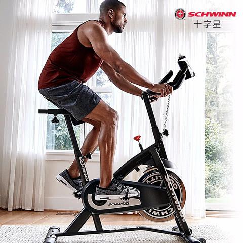 美国十字星/Schwinn动感单车静音家用健身车运动单车室内全身健身器材IC2I 动感单车