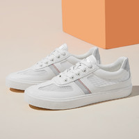 2021新款轻盈小白鞋