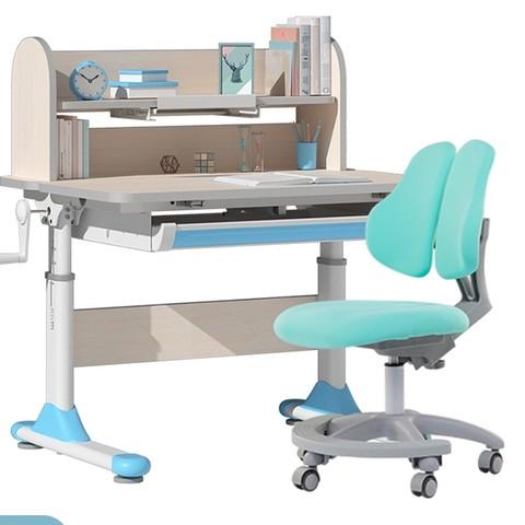igrow 爱果乐 可升降学习桌椅套装 喵小乐plus款 80cm