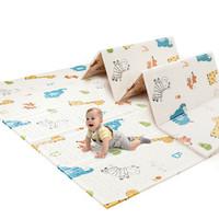 澳乐 宝宝xpe折叠爬行垫加厚 森林乐园+趣味字母折叠爬行垫 AL1918082610