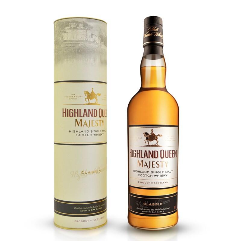 Highland Queen 高地女王 苏格兰经典单一麦芽威士忌 700ml