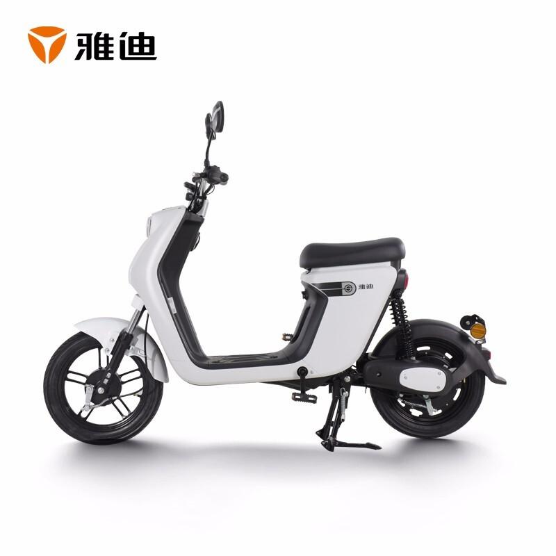 13日0点 : Yadea 雅迪 10001 欧睿都市版 48V16AH锂电池 新国标电动自行车