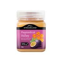 天猫国际双12现货:新溪岛Streamland百香果口味蜂蜜250g