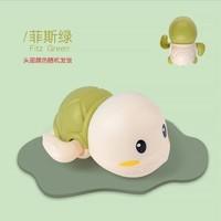 抖音爆款宝宝戏水游泳小乌龟上链发条洗澡儿童玩具 2只小乌龟