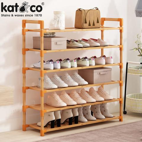 KatCo鞋架简易门口家用经济型鞋柜子宿舍收纳神器防尘多层置物架