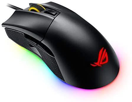 ASUS ROG Gladius II Aura Sync USB 有线光学人体工程学游戏鼠标