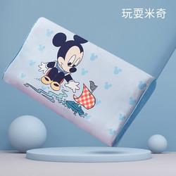 迪士尼(Disney)儿童乳胶枕小孩橡胶枕宝宝卡通小枕头