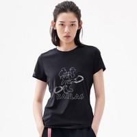 凯乐石速干短袖T恤女透气跑步运动上衣纯棉文化棉感