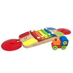 Hape 火车轨道玩具 早旋律琴轨