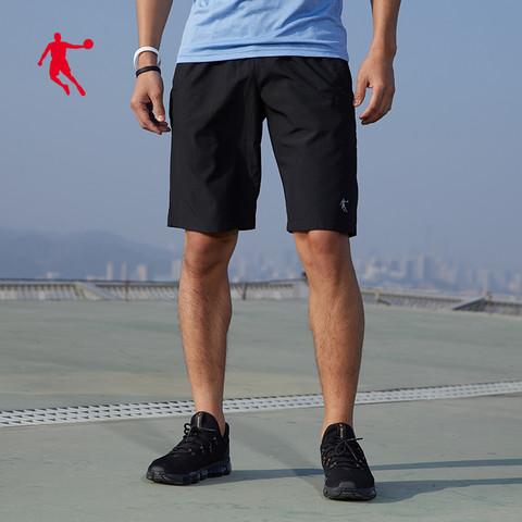 乔丹运动短裤男2020夏季薄款透气休闲梭织速干短裤男士五分裤裤子